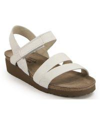 Naot - Footbed Sandal - Lyst