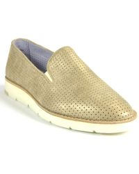 Johnston & Murphy - Slip On Oxford - Lyst