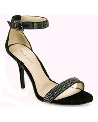 Pelle Moda - Rhinestone Sandal - Lyst
