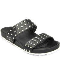 J/Slides - Leather Stud Sandal - Lyst