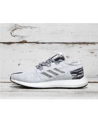 1403b3a1f Lyst - adidas X Undefeated Pure Boost Go in Gray for Men