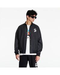 Nike Sportswear Woven Jacket Wtour Black/ White - Nero