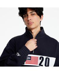 KTZ 1920 Mock Neck Sweater Navy - Blue