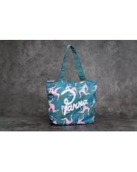 Footshop - By Parra Musical Chairs Tote Bag Green - Lyst