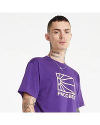 Rassvet (PACCBET) Cotton Logo T-Shirt Knit Purple - Viola