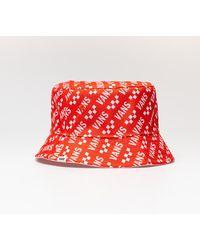 Vans Deluhankley Reversible Bucket Hat Grenadine/ Brand - Rosso