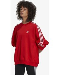 adidas Originals Adidas Os Sweatshirt Red - Rouge