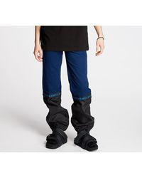 """Footshop """"FTSHP + LAFORMELA """"""""No Season"""""""" Twill Track Pants Black/ Blue"""""""