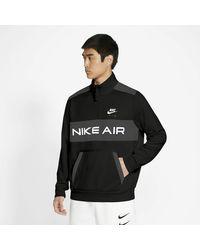 Nike Sportswear Air Pack Jacket Black/ Dk Smoke Grey/ White/ White - Nero