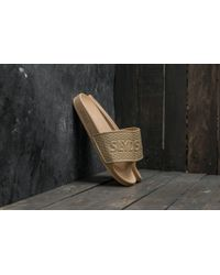 Footshop - Slydes Cali Basic Logo Sand - Lyst