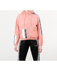 Fila Tale Wind Jacket Lobster Bisque/ Bright White - Pink