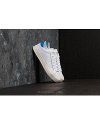 finest selection 41204 c1fcb adidas Originals - Adidas Courtvantage Ftw White Ftw White Bright Blue -  Lyst