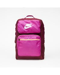 Nike Future Pro Kids' Backpack Dark Beetroot/ Cactus Flower/ White - Rosso