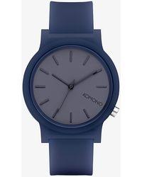 Komono Mono Watch Navy - Blu