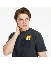 The North Face Ss Patches Tee Asphalt Gray