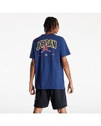Nike Jumpman M Graphic Short-Sleeve T-Shirt Midnight Navy - Blu