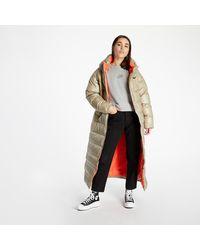 Nike Sportswear Down Parka Mystic Stone/ Bright Crimson/ Black - Grau