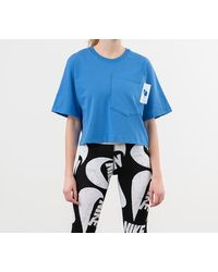 Nike Sportswear Crop Top Pacific Blue/ White/ Soar - Bleu