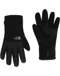 The North Face Denali Etip Glove Tnf Black - Nero