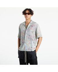 McQ Br7 Speckle Shirt Mint Light Speckle - Multicolore