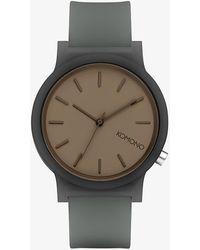 Komono Mono Watch Charcoal - Grigio