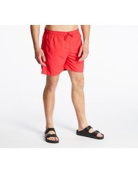 Norse Projects Hauge Swim Shorts Askja Red - Rouge