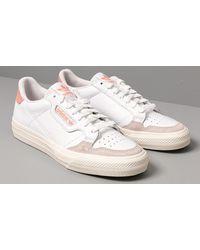 adidas Originals Adidas Continental Vulc Ftw White/ Ftw White/ Glow Pink - Weiß