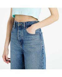 Tommy Hilfiger Mom Ultra High Rise Tapared Jeans Emf Sp Mb Rgd - Blau