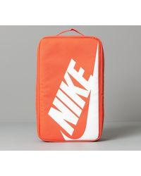 Nike Shoe Box Bag Orange/ Orange/ White - Naranja