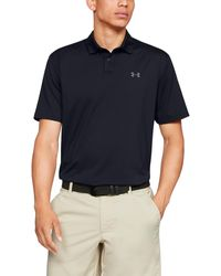Under Armour Performance Polo 2.0 Black/ Pitch Gray - Nero