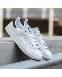 Adidas Originals | Adidas Stan Smith Running White/new Navy | Lyst