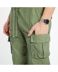 John Elliott Back Sateen Cargo Pants Olive - Vert