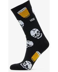Vans 1 Pair Dive Bar Crew Socks Black - Noir