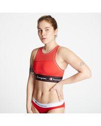 Champion Tank Fashion Bra Red - Rouge