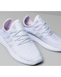 adidas Originals Adidas Deerupt Runner W Purple Tint/ Silver Metalic/ Periwinkle