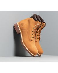 Timberland Alburn 6In Waterproof Boot Wheat Nubuck - Marrone
