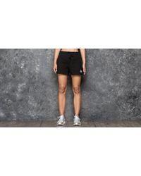 Stussy | Puff Stock Gym Short Black | Lyst