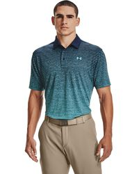 Under Armour Playoff Polo 2.0 Navy - Blu