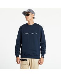 Daily Paper Alias Sweater Navy - Blue