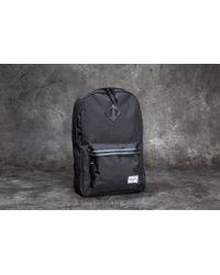 Herschel Supply Co. - Heritage Mid-volume Backpack Black  Dark Shadow - Lyst acc6bb1d1b802
