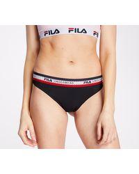 Fila Brazilian Panties Black - Noir