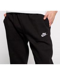 Nike Sportswear Club BB Jogger Fleece Pants Black/ Black/ White - Noir