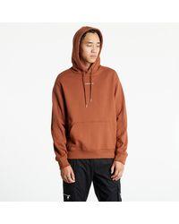 Calvin Klein Micro Branding Hoodie - Marrón