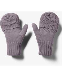 Under Armour Around Town Mitten Gloves Slate Purple/ Slate Purple/ Slate Purple - Violet
