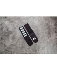 Y-3 - Stripe Sock Black - Lyst