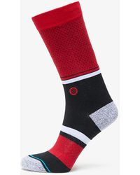 Stance NBA Bulls Socks Red - Rojo