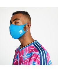 adidas Originals Adidas Face Cover Large 3-Pack Bluebird - Azul