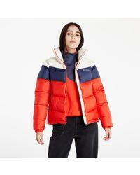Columbia PuffectTM Color Blocked Jacket Bold Orange - Multicolore