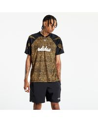 adidas Originals Adidas Aop Fball Tee Beiton/ Mesa/ Black - Noir