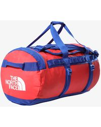 The North Face Base Camp Duffel M Red/ Blue - Rot